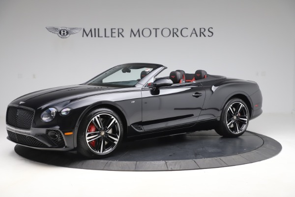 New 2020 Bentley Continental GTC V8 for sale $271,550 at Maserati of Greenwich in Greenwich CT 06830 2