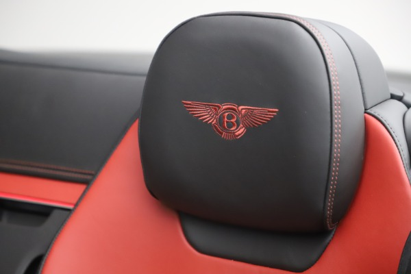 New 2020 Bentley Continental GTC V8 for sale $271,550 at Maserati of Greenwich in Greenwich CT 06830 27