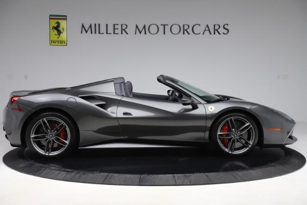 Used 2018 Ferrari 488 Spider for sale $283,900 at Maserati of Greenwich in Greenwich CT 06830 9