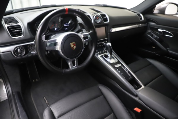 Used 2015 Porsche Cayman S for sale Sold at Maserati of Greenwich in Greenwich CT 06830 13