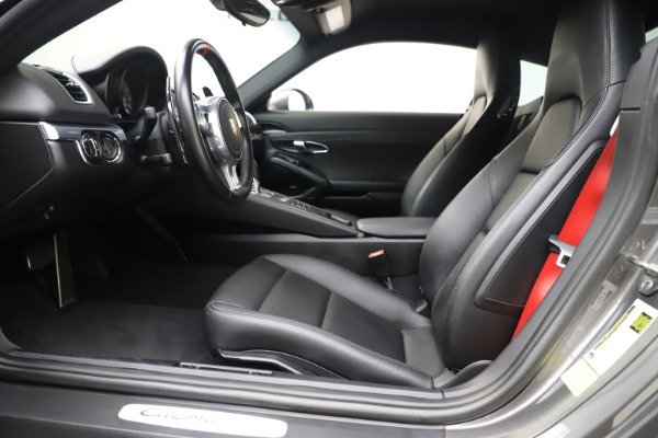 Used 2015 Porsche Cayman S for sale Sold at Maserati of Greenwich in Greenwich CT 06830 14