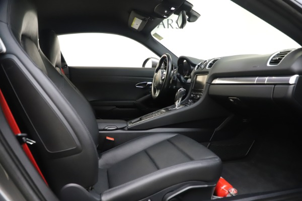 Used 2015 Porsche Cayman S for sale Sold at Maserati of Greenwich in Greenwich CT 06830 19