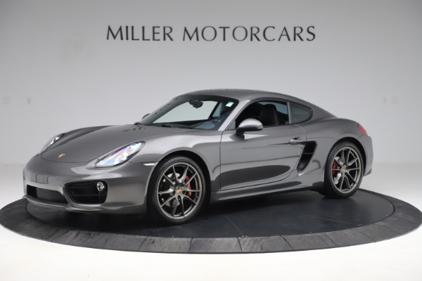 Used 2015 Porsche Cayman S for sale Sold at Maserati of Greenwich in Greenwich CT 06830 2