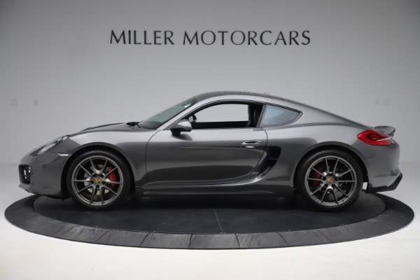 Used 2015 Porsche Cayman S for sale Sold at Maserati of Greenwich in Greenwich CT 06830 3