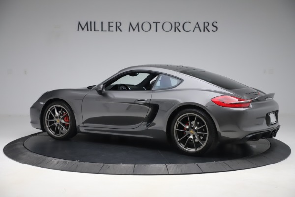 Used 2015 Porsche Cayman S for sale Sold at Maserati of Greenwich in Greenwich CT 06830 4