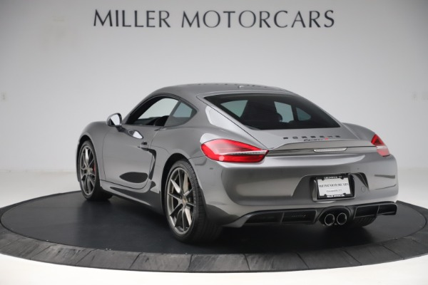 Used 2015 Porsche Cayman S for sale Sold at Maserati of Greenwich in Greenwich CT 06830 5