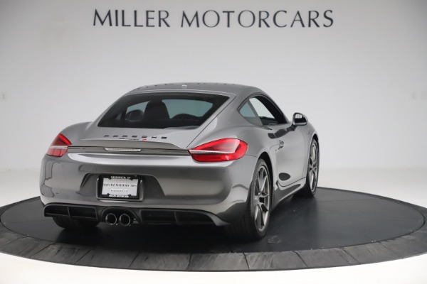 Used 2015 Porsche Cayman S for sale Sold at Maserati of Greenwich in Greenwich CT 06830 7