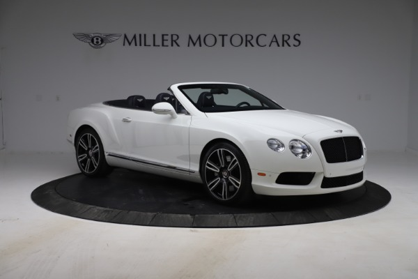 Used 2015 Bentley Continental GTC V8 for sale $119,900 at Maserati of Greenwich in Greenwich CT 06830 11