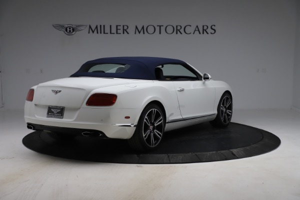 Used 2015 Bentley Continental GTC V8 for sale $119,900 at Maserati of Greenwich in Greenwich CT 06830 17