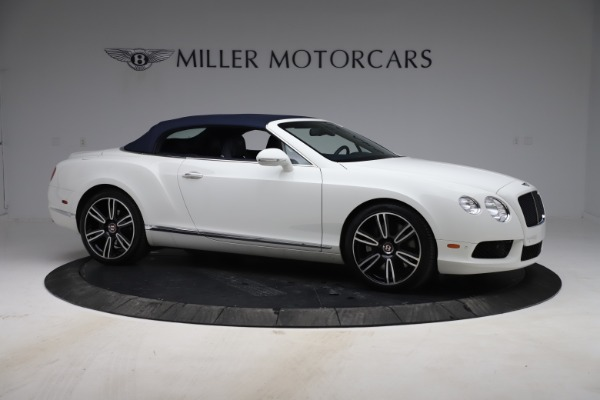 Used 2015 Bentley Continental GTC V8 for sale $119,900 at Maserati of Greenwich in Greenwich CT 06830 19