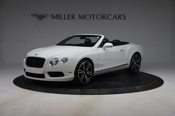 Used 2015 Bentley Continental GTC V8 for sale $119,900 at Maserati of Greenwich in Greenwich CT 06830 2