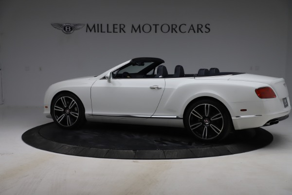 Used 2015 Bentley Continental GTC V8 for sale $119,900 at Maserati of Greenwich in Greenwich CT 06830 4