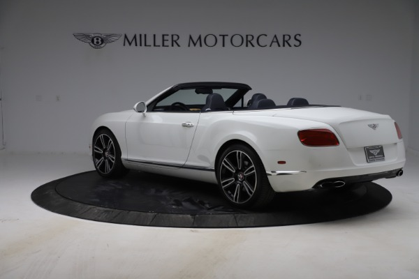 Used 2015 Bentley Continental GTC V8 for sale $119,900 at Maserati of Greenwich in Greenwich CT 06830 5