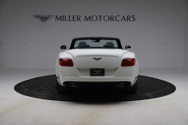 Used 2015 Bentley Continental GTC V8 for sale $119,900 at Maserati of Greenwich in Greenwich CT 06830 6