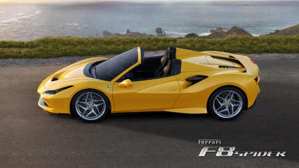 New 2020 Ferrari F8 Spider for sale Call for price at Maserati of Greenwich in Greenwich CT 06830 2