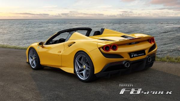 New 2021 Ferrari F8 Spider for sale Call for price at Maserati of Greenwich in Greenwich CT 06830 4