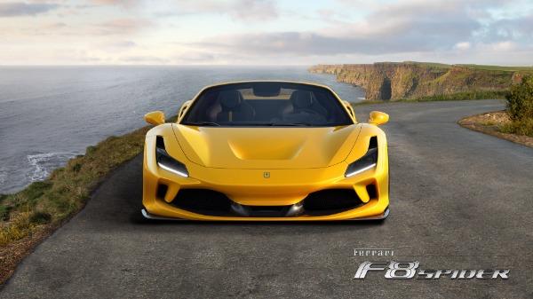 New 2021 Ferrari F8 Spider for sale Call for price at Maserati of Greenwich in Greenwich CT 06830 5