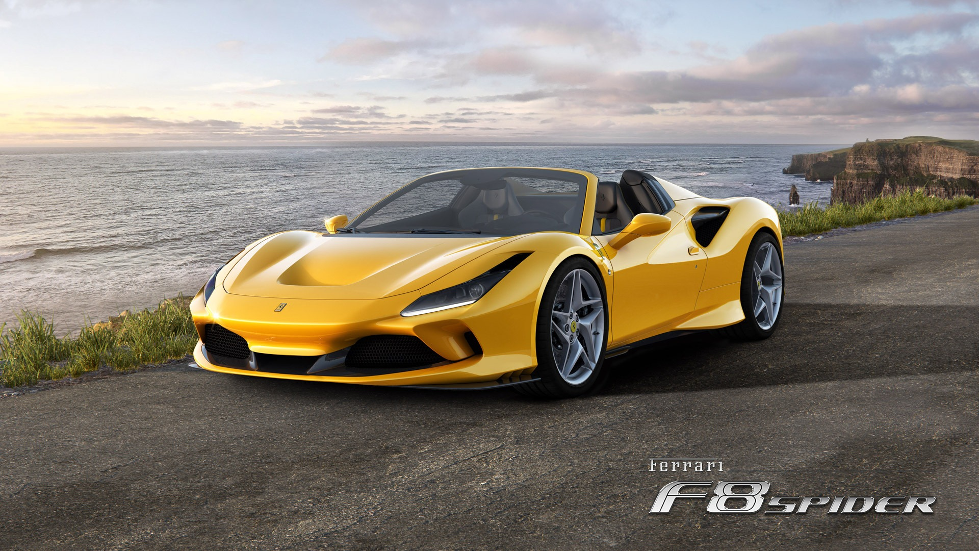 New 2020 Ferrari F8 Spider for sale Call for price at Maserati of Greenwich in Greenwich CT 06830 1