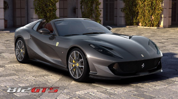 New 2021 Ferrari 812GTS for sale Call for price at Maserati of Greenwich in Greenwich CT 06830 2
