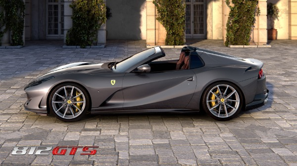 New 2021 Ferrari 812GTS for sale Call for price at Maserati of Greenwich in Greenwich CT 06830 3