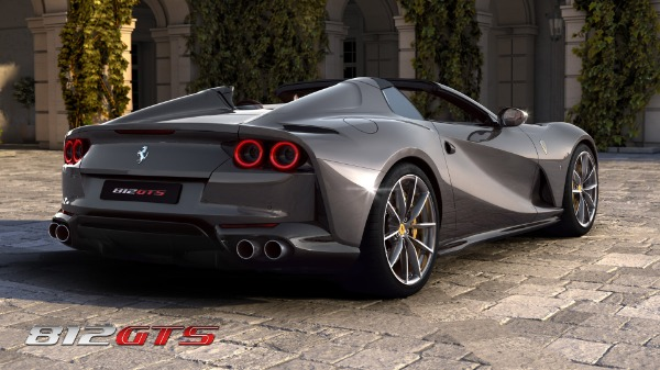 New 2020 Ferrari 812GTS for sale Call for price at Maserati of Greenwich in Greenwich CT 06830 5