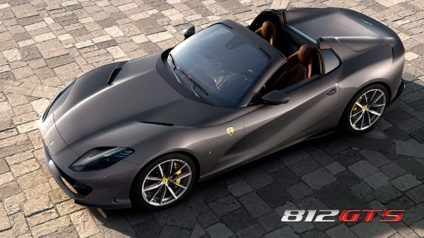New 2021 Ferrari 812GTS for sale Call for price at Maserati of Greenwich in Greenwich CT 06830 1