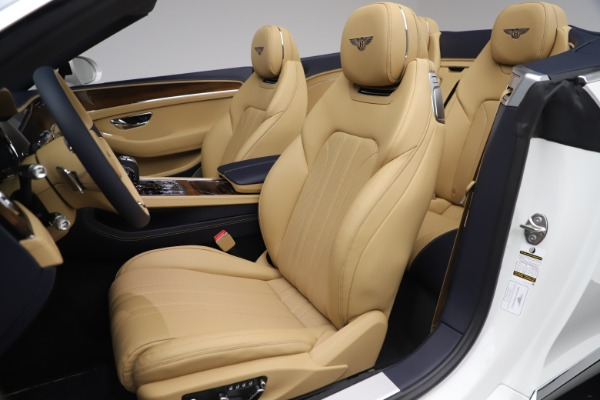 New 2020 Bentley Continental GTC V8 for sale $262,475 at Maserati of Greenwich in Greenwich CT 06830 26