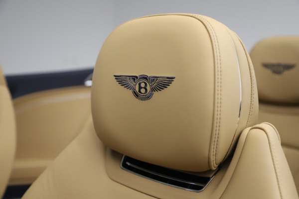 New 2020 Bentley Continental GTC V8 for sale $262,475 at Maserati of Greenwich in Greenwich CT 06830 27