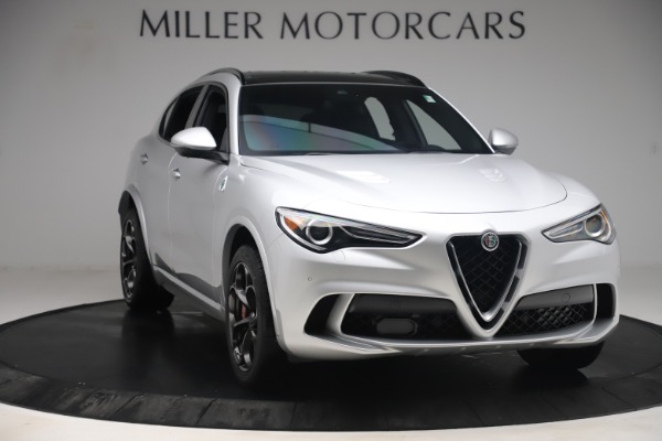 Used 2019 Alfa Romeo Stelvio Quadrifoglio for sale Sold at Maserati of Greenwich in Greenwich CT 06830 11