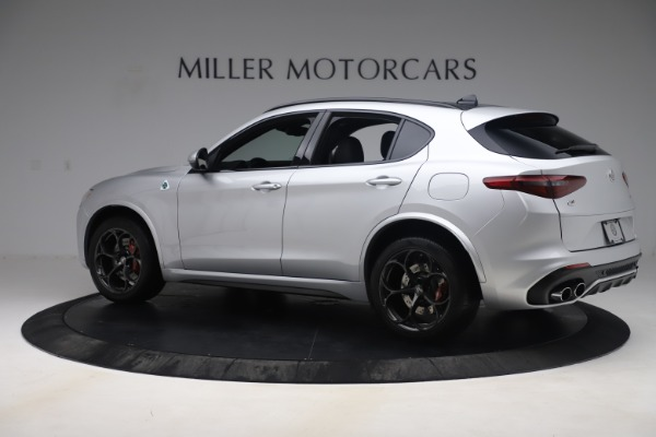 Used 2019 Alfa Romeo Stelvio Quadrifoglio for sale Sold at Maserati of Greenwich in Greenwich CT 06830 4