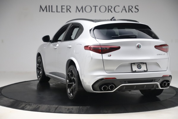 Used 2019 Alfa Romeo Stelvio Quadrifoglio for sale Sold at Maserati of Greenwich in Greenwich CT 06830 5