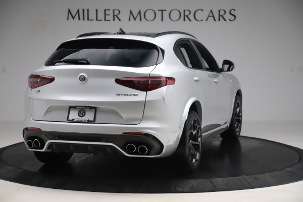 Used 2019 Alfa Romeo Stelvio Quadrifoglio for sale Sold at Maserati of Greenwich in Greenwich CT 06830 7