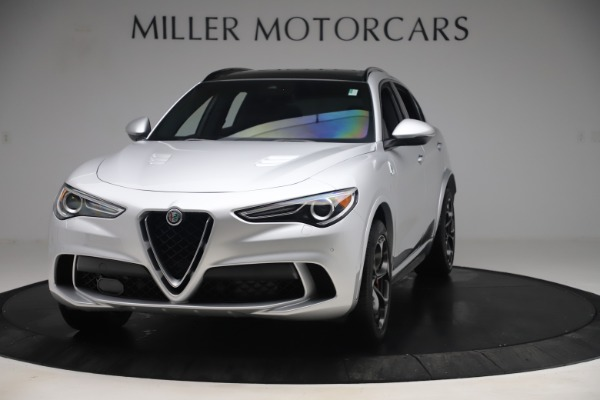 Used 2019 Alfa Romeo Stelvio Quadrifoglio for sale Sold at Maserati of Greenwich in Greenwich CT 06830 1