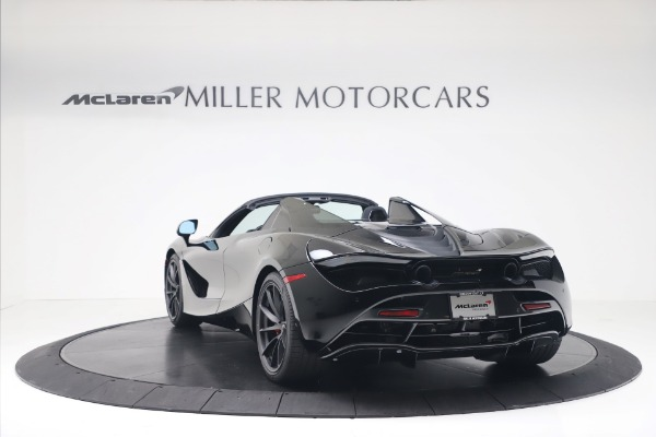 New 2020 McLaren 720S Spider Convertible for sale $383,090 at Maserati of Greenwich in Greenwich CT 06830 4