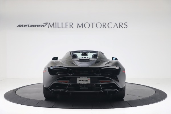 New 2020 McLaren 720S Spider Convertible for sale $383,090 at Maserati of Greenwich in Greenwich CT 06830 5