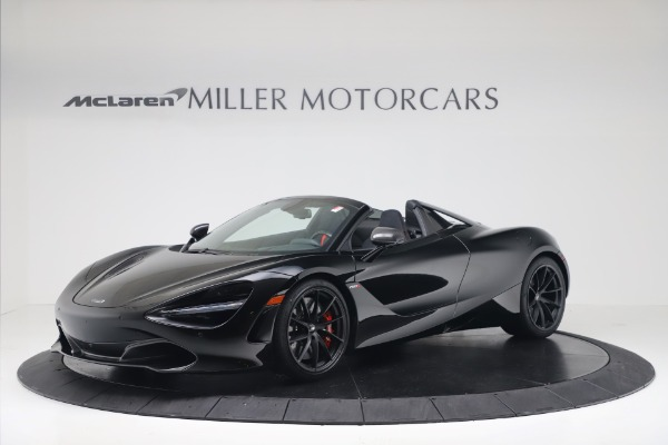 New 2020 McLaren 720S Spider Convertible for sale $383,090 at Maserati of Greenwich in Greenwich CT 06830 1
