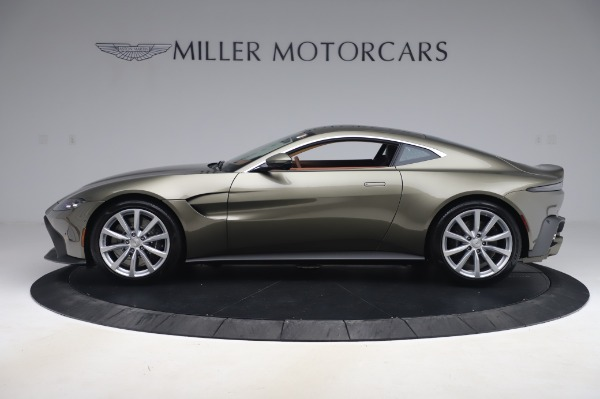 New 2020 Aston Martin Vantage Coupe for sale $180,450 at Maserati of Greenwich in Greenwich CT 06830 2