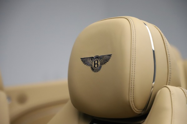 New 2020 Bentley Continental GTC V8 for sale $262,475 at Maserati of Greenwich in Greenwich CT 06830 25