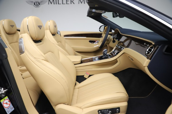 New 2020 Bentley Continental GTC V8 for sale $262,475 at Maserati of Greenwich in Greenwich CT 06830 28