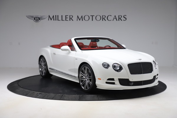 Used 2015 Bentley Continental GTC Speed for sale Call for price at Maserati of Greenwich in Greenwich CT 06830 11
