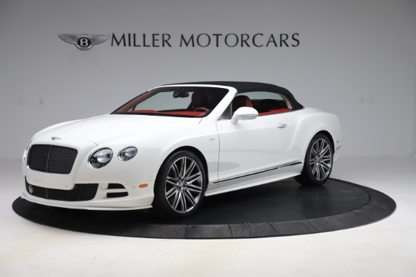 Used 2015 Bentley Continental GTC Speed for sale Call for price at Maserati of Greenwich in Greenwich CT 06830 13