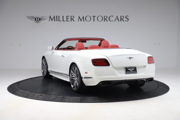 Used 2015 Bentley Continental GTC Speed for sale Call for price at Maserati of Greenwich in Greenwich CT 06830 5