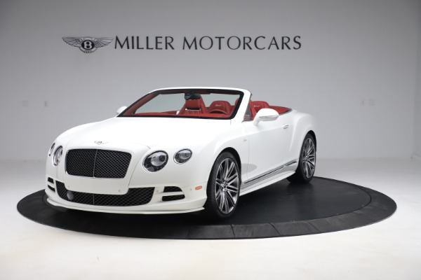 Used 2015 Bentley Continental GTC Speed for sale Call for price at Maserati of Greenwich in Greenwich CT 06830 1