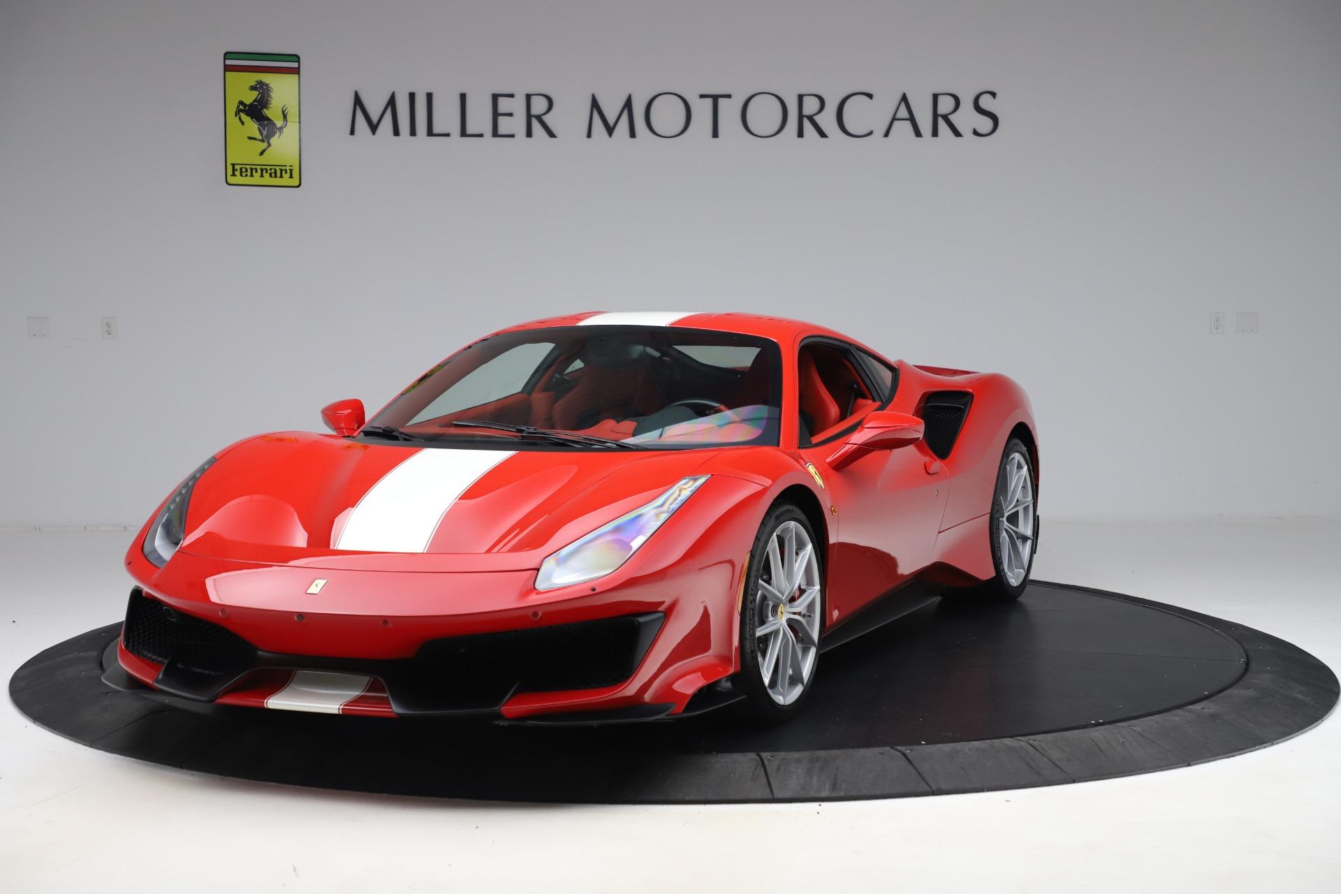 Used 2019 Ferrari 488 Pista for sale $449,900 at Maserati of Greenwich in Greenwich CT 06830 1