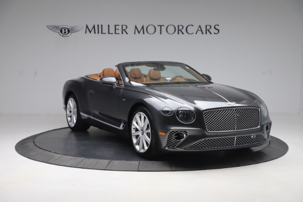 New 2020 Bentley Continental GTC V8 for sale $266,665 at Maserati of Greenwich in Greenwich CT 06830 11