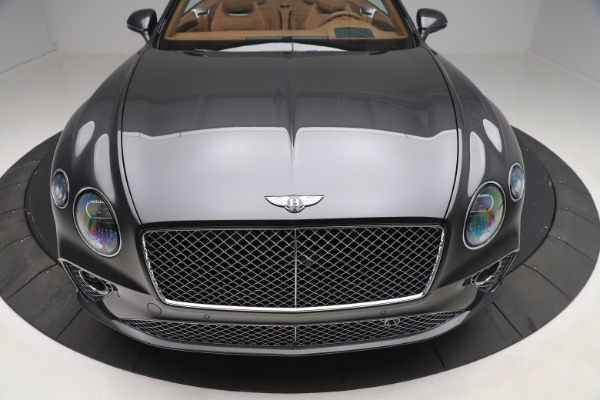New 2020 Bentley Continental GTC V8 for sale $266,665 at Maserati of Greenwich in Greenwich CT 06830 12