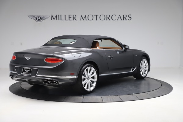 New 2020 Bentley Continental GTC V8 for sale $266,665 at Maserati of Greenwich in Greenwich CT 06830 20