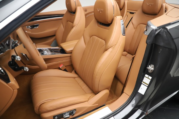 New 2020 Bentley Continental GTC V8 for sale $266,665 at Maserati of Greenwich in Greenwich CT 06830 27