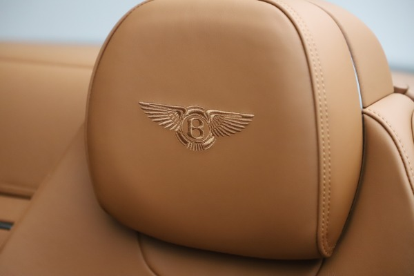 New 2020 Bentley Continental GTC V8 for sale $266,665 at Maserati of Greenwich in Greenwich CT 06830 28