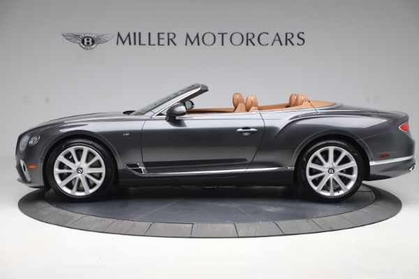 New 2020 Bentley Continental GTC V8 for sale $266,665 at Maserati of Greenwich in Greenwich CT 06830 3